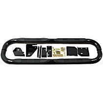 23-1555 E-Series Powdercoated Black Nerf Bars, Covers Cab Length - Set of 2