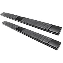 28-71005 R7 Series Running Boards - Powdercoated Black, Set of 2