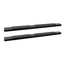 28-71015 R7 Series Running Boards - Powdercoated Black, Set of 2
