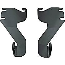 30-1085 Light Bar Mounting Kit - Powdercoated Black, Direct Fit, Kit