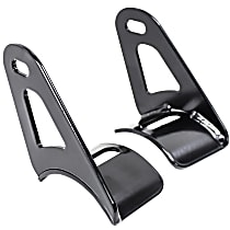 Westin 32-20045 Light Bar Mounting Kit - Powdercoated Black, Universal, Set of 2
