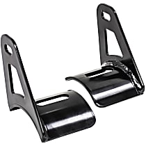 Westin 32-20055 Light Bar Mounting Kit - Powdercoated Black, Universal, Set of 2