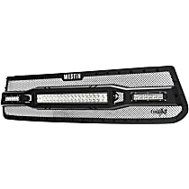 Westin 34-1075 Billet Grille - Powdercoated Textured Black, Steel, Mesh Style, Grille assembly, Direct Fit, Sold individually