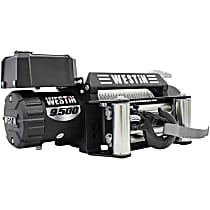 Winch - Electric, 9500 lbs., Steel, Direct Fit