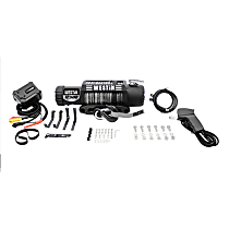 Winch - Electric, 12500 lbs., Synthetic, Direct Fit