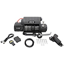Winch - Electric, 10000 lbs., Synthetic, Direct Fit