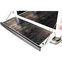 50-6555 Tailgate Liner - Black, Recycled Heavy Weight Rubber, Universal, Sold individually