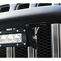 59-88015 Light Bar Mounting Kit - Textured Black, Direct Fit, Kit