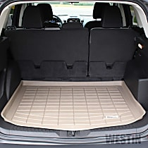 72-137057 Sure-Fit Series Cargo Mat - Tan, Made of Rubber, Molded Cargo Liner, Direct Fit, Sold individually