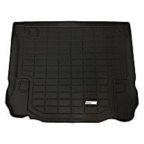 72-117068 Sure-Fit Series Cargo Mat - Black, Made of Rubber, Molded Cargo Liner, Direct Fit, Sold individually