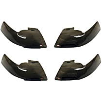 72-31234 Headlight Cover - Smoked, Acrylic, Direct Fit, Set of 4