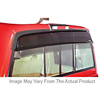 Direct Fit Smoke Plastic Rear Windshield Air Deflector, Sold individually