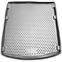 74-02-11001 Profile Series Cargo Mat - Black, Rubberized Polymer, Molded Cargo Liner, Direct Fit, Sold individually