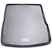 74-02-11004 Profile Series Cargo Mat - Black, Rubberized Polymer, Molded Cargo Liner, Direct Fit, Sold individually