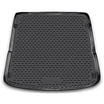 74-02-11008 Profile Series Cargo Mat - Black, Rubberized Polymer, Molded Cargo Liner, Direct Fit, Sold individually