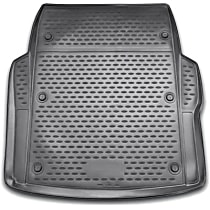 74-03-11022 Profile Series Cargo Mat - Black, Rubberized Polymer, Molded Cargo Liner, Direct Fit, Sold individually