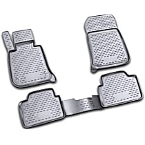 74-03-41006 Black Floor Mats, Front And Second Row