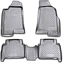 74-16-41002 Black Floor Mats, Front And Second Row