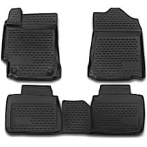 74-41-41028 Black Floor Mats, Front And Second Row