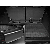 40311SK Weathertech DigitalFit Cargo Mat - Black, Thermoplastic, Molded Cargo Liner, Direct Fit, Sold individually