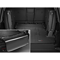 40356SK Weathertech DigitalFit Cargo Mat - Black, Thermoplastic, Molded Cargo Liner, Direct Fit, Sold individually