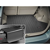 40537SK Weathertech DigitalFit Cargo Mat - Black, Thermoplastic, Molded Cargo Liner, Direct Fit, Sold individually