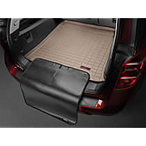 41273SK Weathertech DigitalFit Cargo Mat - Tan, Thermoplastic, Molded Cargo Liner, Direct Fit, Sold individually