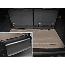 41311SK Weathertech DigitalFit Cargo Mat - Tan, Thermoplastic, Molded Cargo Liner, Direct Fit, Sold individually