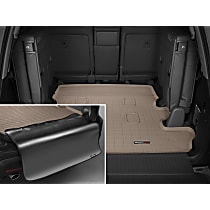 41356SK Weathertech DigitalFit Cargo Mat - Tan, Thermoplastic, Molded Cargo Liner, Direct Fit, Sold individually
