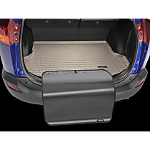 41610SK Weathertech DigitalFit Cargo Mat - Tan, Thermoplastic, Molded Cargo Liner, Direct Fit, Sold individually
