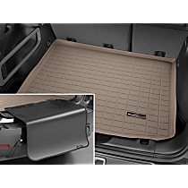 41656SK Weathertech DigitalFit Cargo Mat - Tan, Thermoplastic, Molded Cargo Liner, Direct Fit, Sold individually