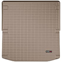 41865 Weathertech DigitalFit Cargo Mat - Tan, Thermoplastic, Molded Cargo Liner, Direct Fit, Sold individually