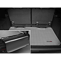 42311SK Weathertech DigitalFit Cargo Mat - Gray, Thermoplastic, Molded Cargo Liner, Direct Fit, Sold individually