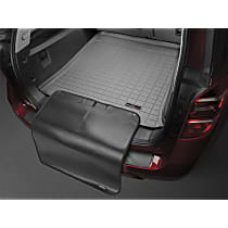 42401SK Weathertech DigitalFit Cargo Mat - Gray, Thermoplastic, Molded Cargo Liner, Direct Fit, Sold individually