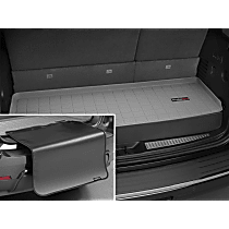 42488SK Weathertech DigitalFit Cargo Mat - Gray, Thermoplastic, Molded Cargo Liner, Direct Fit, Sold individually