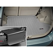 42537SK Weathertech DigitalFit Cargo Mat - Gray, Thermoplastic, Molded Cargo Liner, Direct Fit, Sold individually