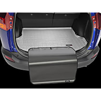 42610SK Weathertech DigitalFit Cargo Mat - Gray, Thermoplastic, Molded Cargo Liner, Direct Fit, Sold individually
