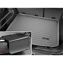 42656SK Weathertech DigitalFit Cargo Mat - Gray, Thermoplastic, Molded Cargo Liner, Direct Fit, Sold individually