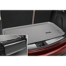 42665SK Weathertech DigitalFit Cargo Mat - Gray, Thermoplastic, Molded Cargo Liner, Direct Fit, Sold individually