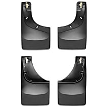 Front and Rear Mud Flaps, Set of 4