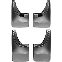 Front And Rear, Driver And Passenger Side Mud Flaps, Set of 4