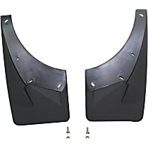 Front, Driver And Passenger Side Mud Flaps, Set of 2