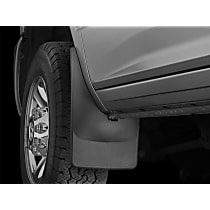 110037 Front, Driver And Passenger Side Mud Flaps, Set of 2