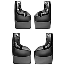 Front And Rear, Driver And Passenger Side Mud Flaps