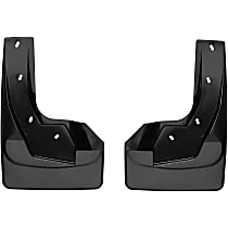 Front, Driver And Passenger Side Mud Flaps