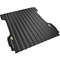 Bed Mat - Black, Thermoplastic, Molded Bed Mat, Direct Fit, Sold individually