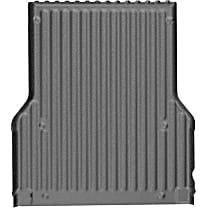 36014 Bed Mat - Black, Thermoplastic, Molded Bed Mat, Direct Fit, Sold individually
