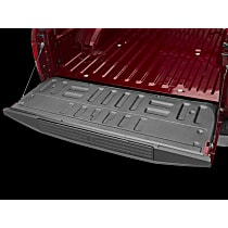 Weathertech 3TG08 Tailgate Liner - Black, Thermoplastic, Direct Fit, Sold individually