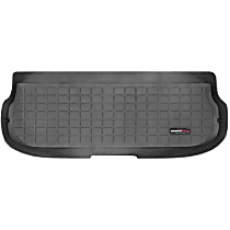 40024 Weathertech DigitalFit Cargo Mat - Black, Thermoplastic, Molded Cargo Liner, Direct Fit, Sold individually