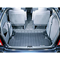 40041 DigitalFit Series Cargo Mat - Black, Thermoplastic, Molded Cargo Liner, Direct Fit, Sold individually